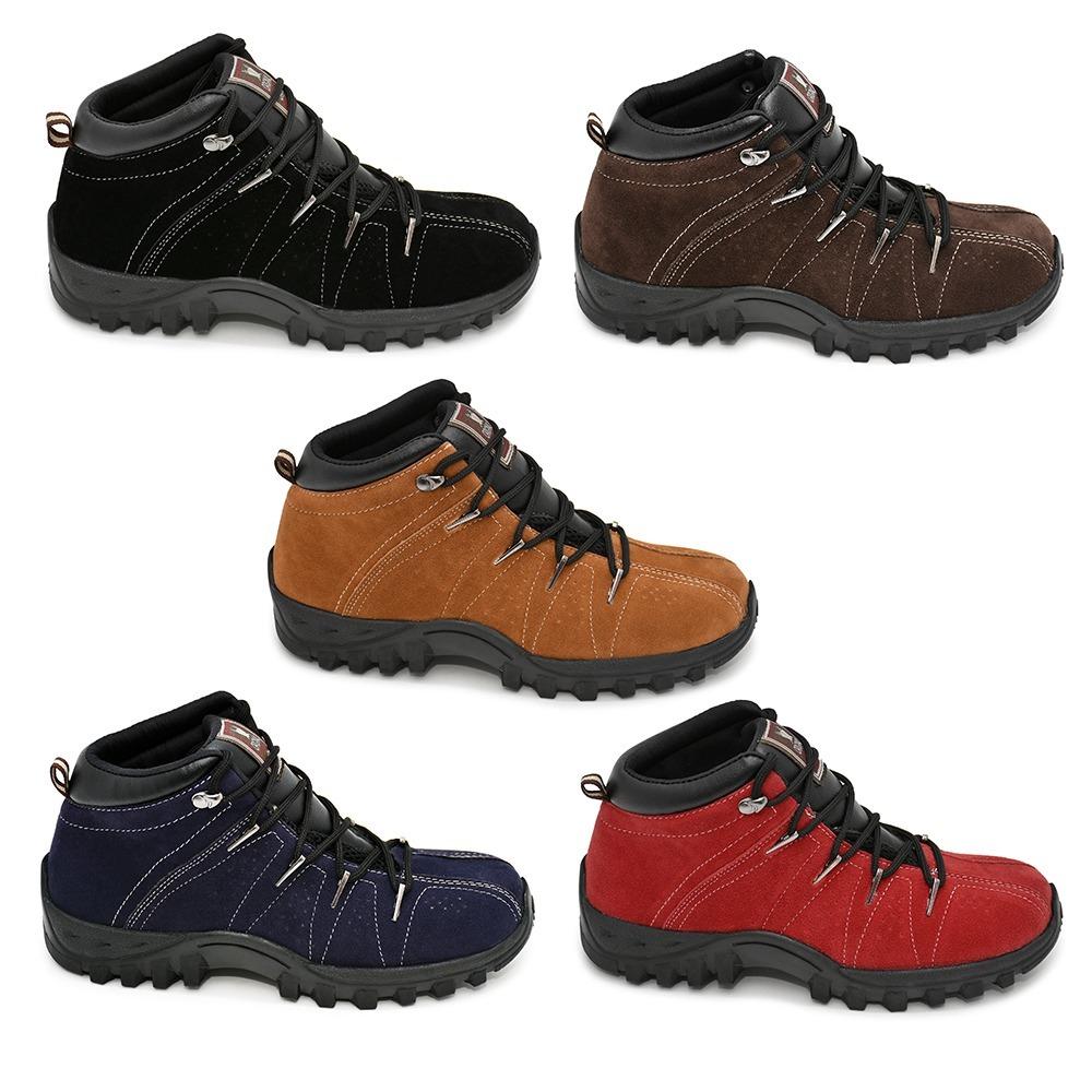 4490f5a44 tênis bota em camurça legitima + frete grátis. 6 Fotos