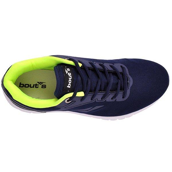 12fe85f953b Tênis Bouts 7291-1008 Azul Marinho amarelo - R  104