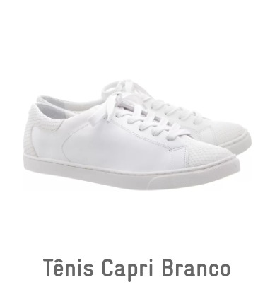 2055ed0ebf47c Tênis Branco Anacapri - R  85
