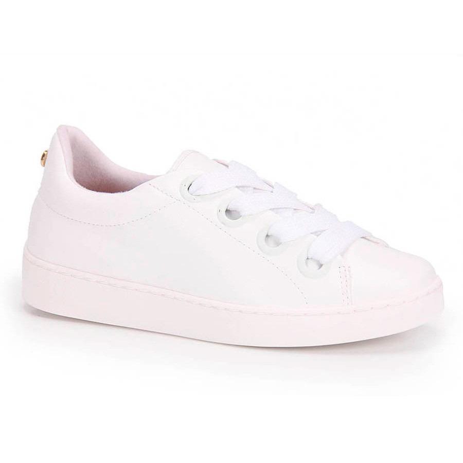42b3fe3e556 tênis branco casual vizzano - novo modelo. Carregando zoom.