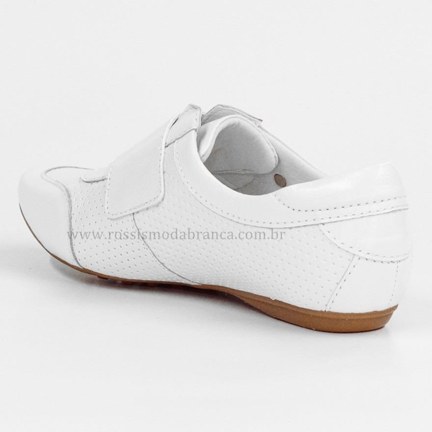 9fb1728a0 Tênis Branco Neftali 2064 - R$ 199,00 em Mercado Livre