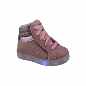 c9da2ac01 Tenis Infantil Brink Com Luz De Led Light Color Feminino - Tênis no ...