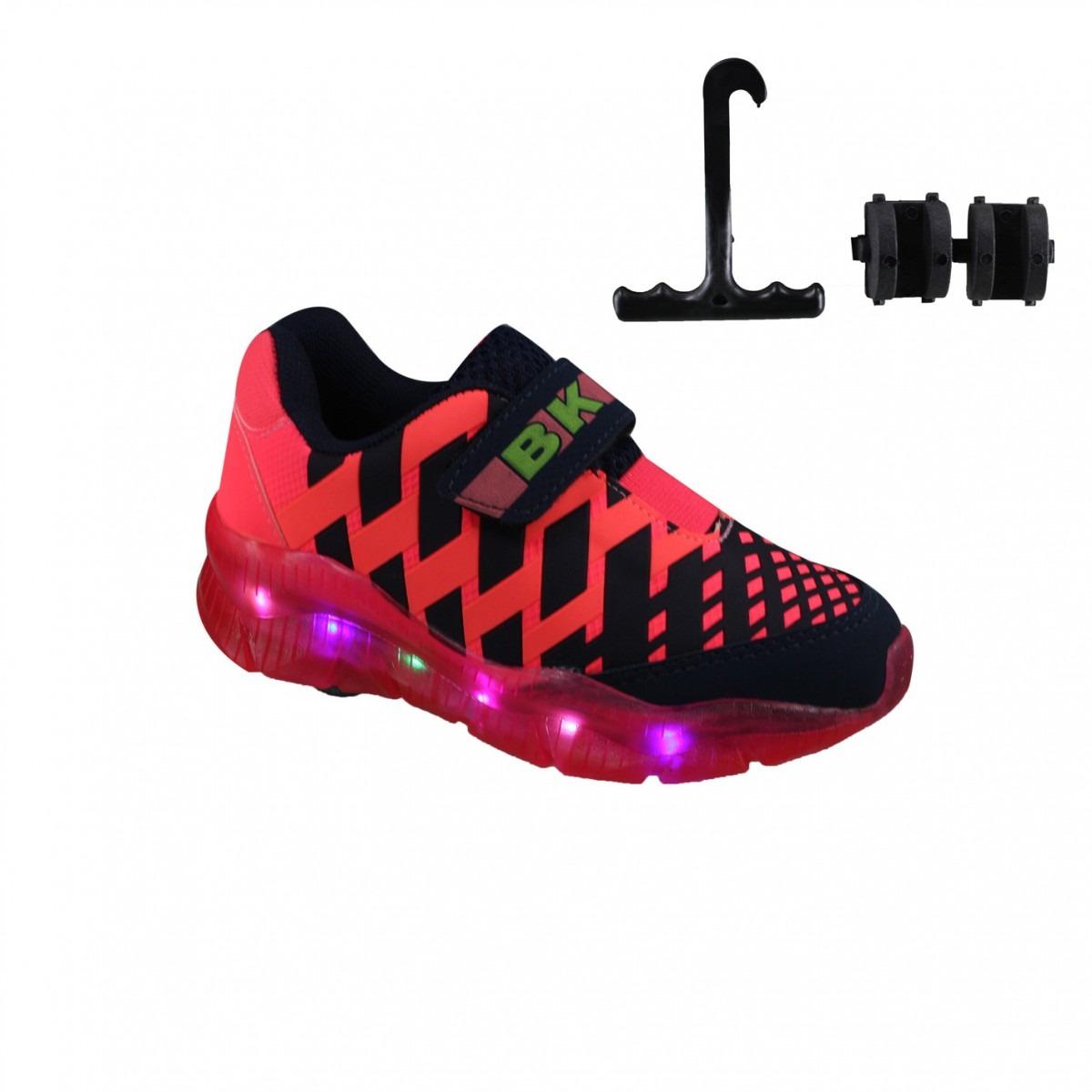 Tênis Brink Roller Com Rodinha E Luz 73.003. b1108842712ba