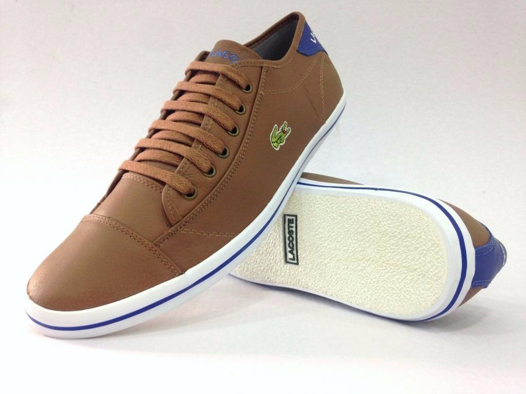 tênis calçado de couro new sport lacoste lançamento oferta. Carregando zoom. c83ef86555