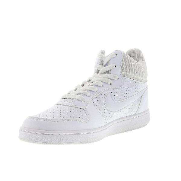 6501df08a1 Tênis Cano Alto Nike Court Borough Mid - Masculino Branco - R  280 ...