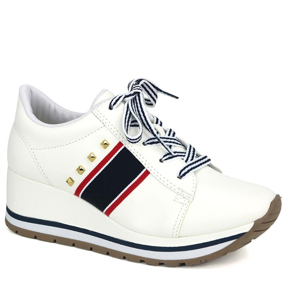 4d6c77593 tênis casual anabela sola alta feminino dakota g0532 branco. Carregando  zoom.