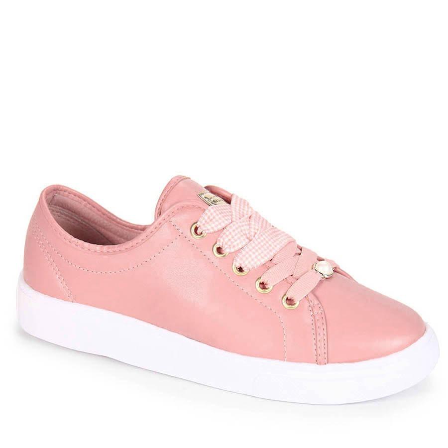 e9f9e60930 tênis casual feminino azaleia - rosa. Carregando zoom.