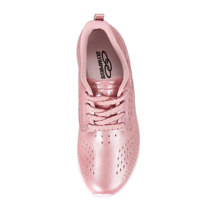57e6ac5a586 tênis casual feminino olympikus happy - rosa. Carregando zoom.