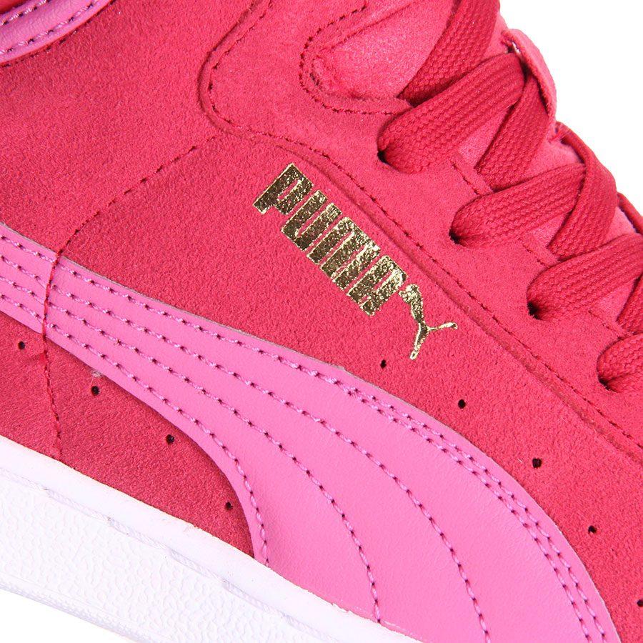 062caa0955203 tênis casual feminino puma vikky mid - pink. Carregando zoom.