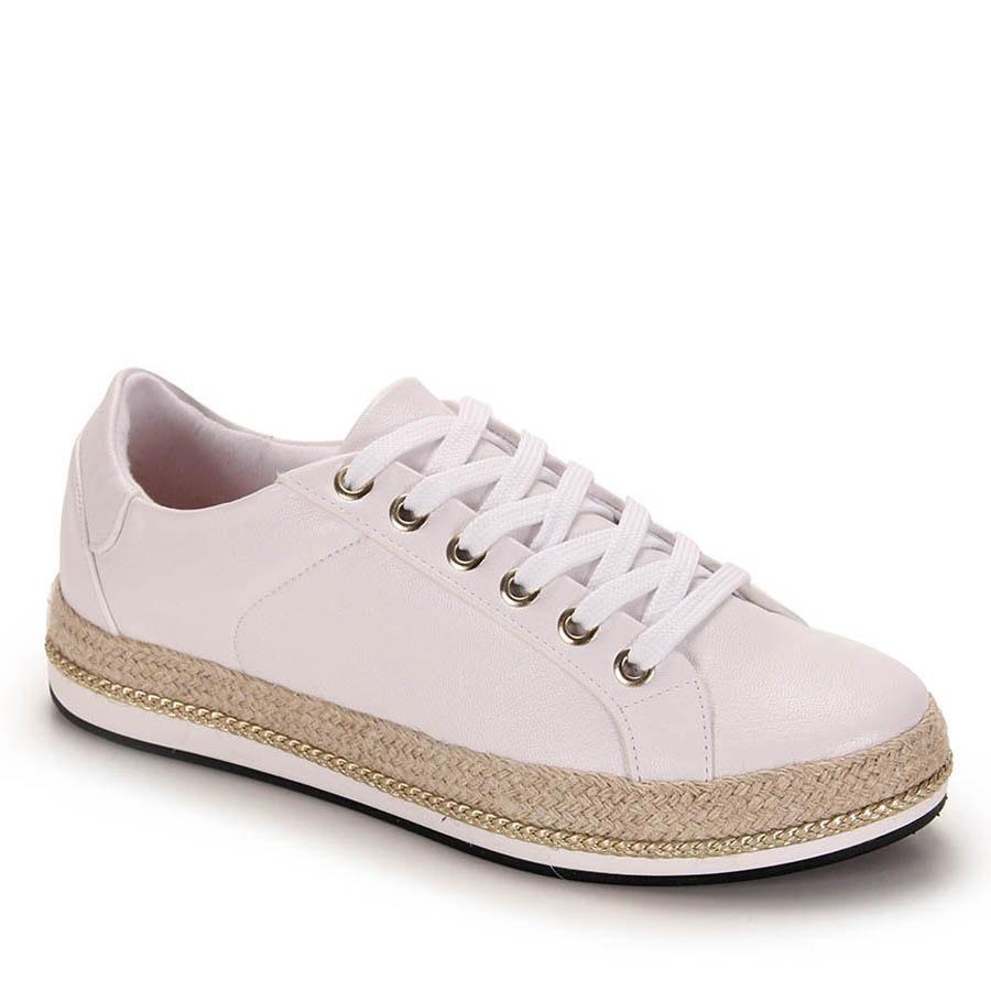 d3a6e0cbd tênis casual feminino vizzano - branco. Carregando zoom.