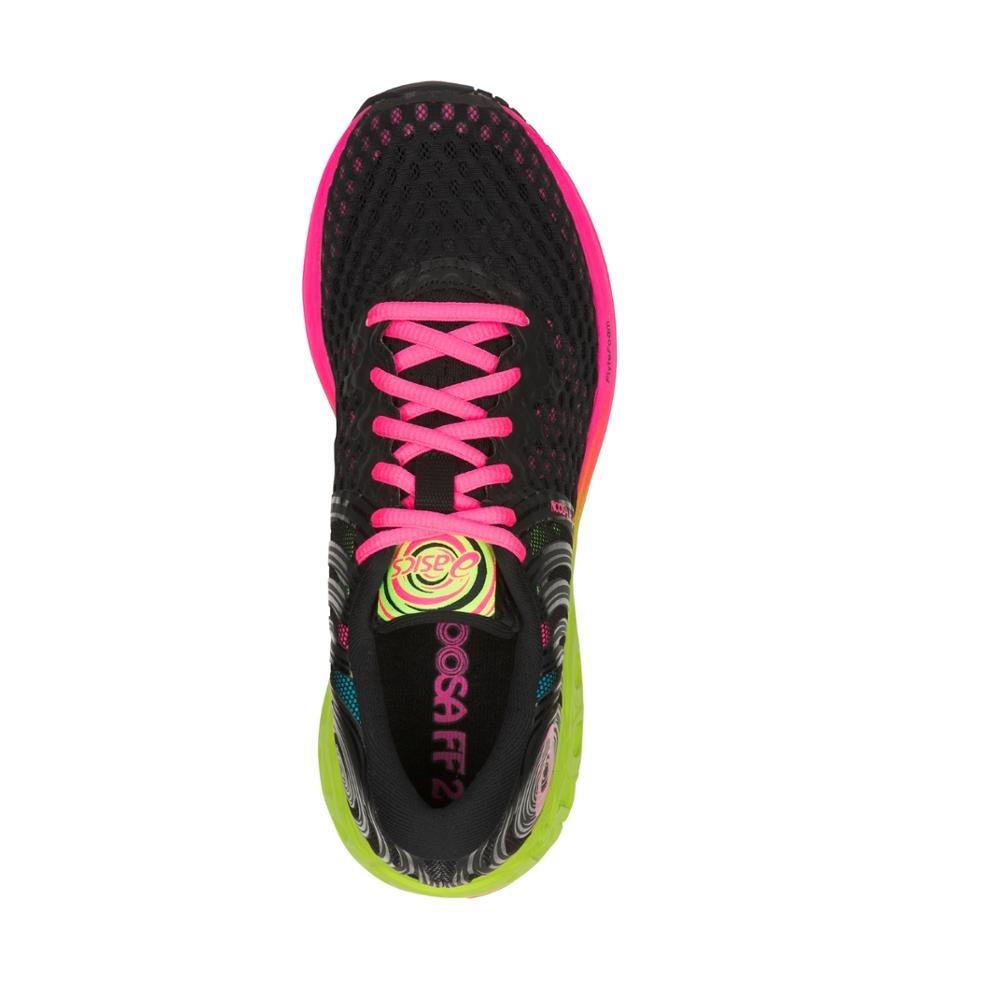 tênis casual hi asics feminino noosa ff2 t869n001 preto pink. Carregando  zoom. b341642dcb74e
