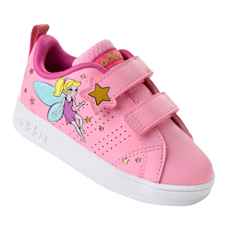 adidas rosa infantil
