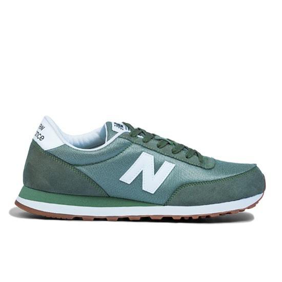 7f02859756c Tênis Casual New Balance 501 Masculino Verde - R  199