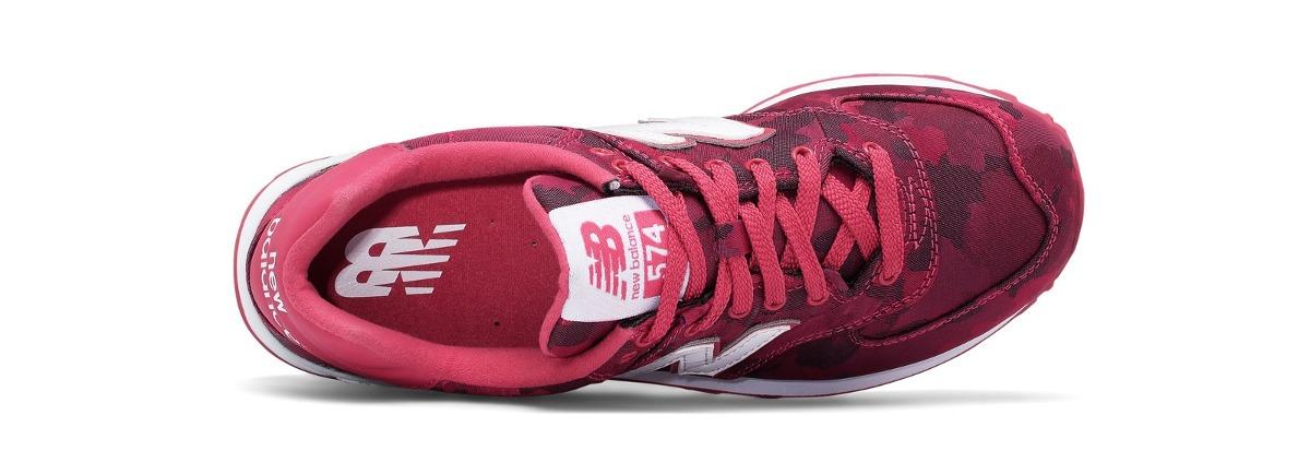 ba2c7765c1d tênis casual new balance 574 camo feminino vermelho. Carregando zoom.