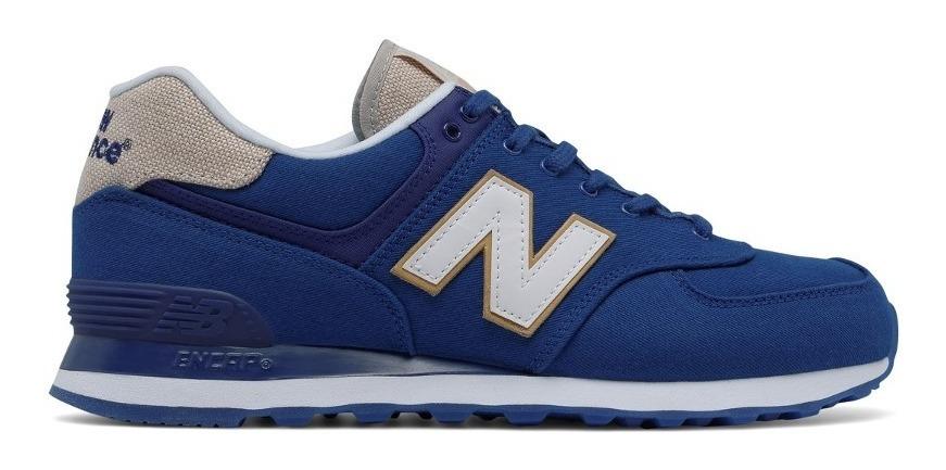 new balance 574 masculino azul