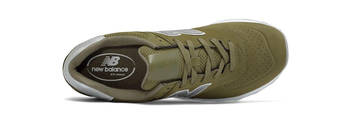 992e6b5b5eb tênis casual new balance 574 synthetic masculino verde. Carregando zoom.