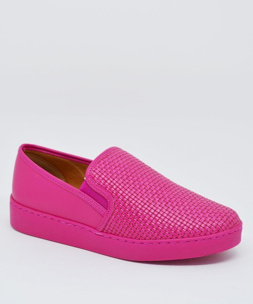 4c9d4a0257 tênis casual slip on iate feminino vizzano 1214200 pink. Carregando zoom.