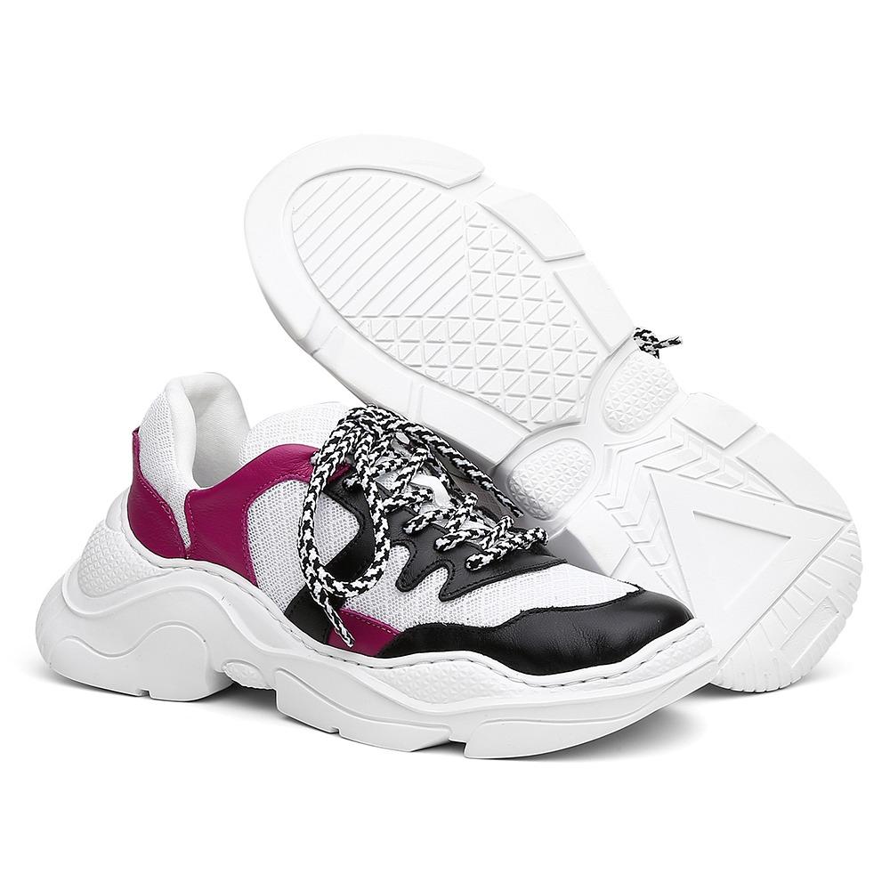 cabe0a382bd tênis chunky sneaker estilo schutz lançamento oferta. Carregando zoom.