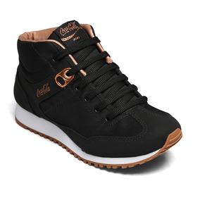 4a5974a317 Tnis Coca Cola Basket Style Sapatos Casuais Masculino - Calçados ...