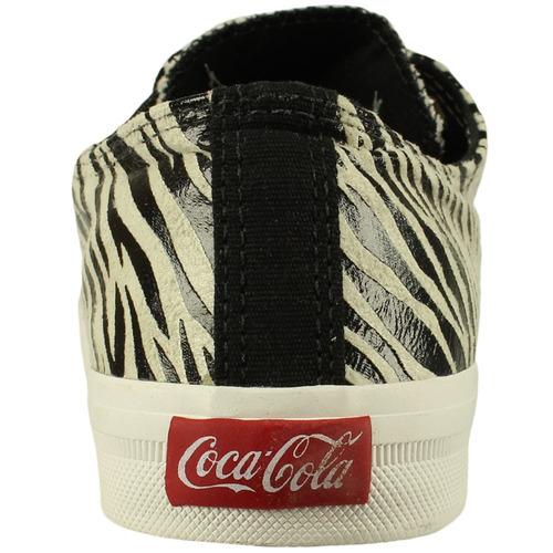tênis coca-cola shoes basket low tag original + nfe freecs