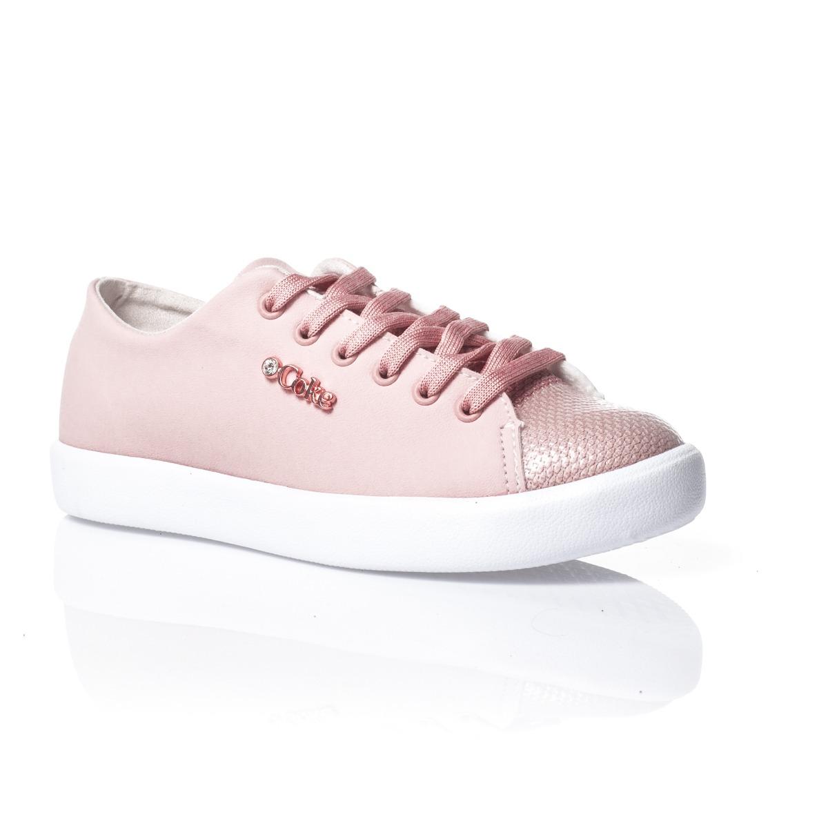 56d50c237f tênis coca-cola shoes luxor low rosa. Carregando zoom.
