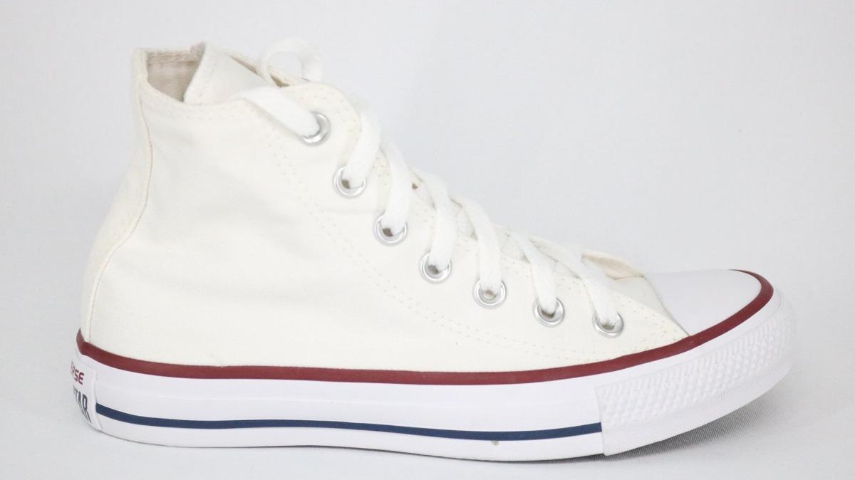 tênis converse all star bota lona branco - 36. Carregando zoom. e4e2cf02c5204