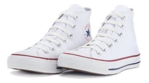 tênis converse all star branco cano alto ct00040001