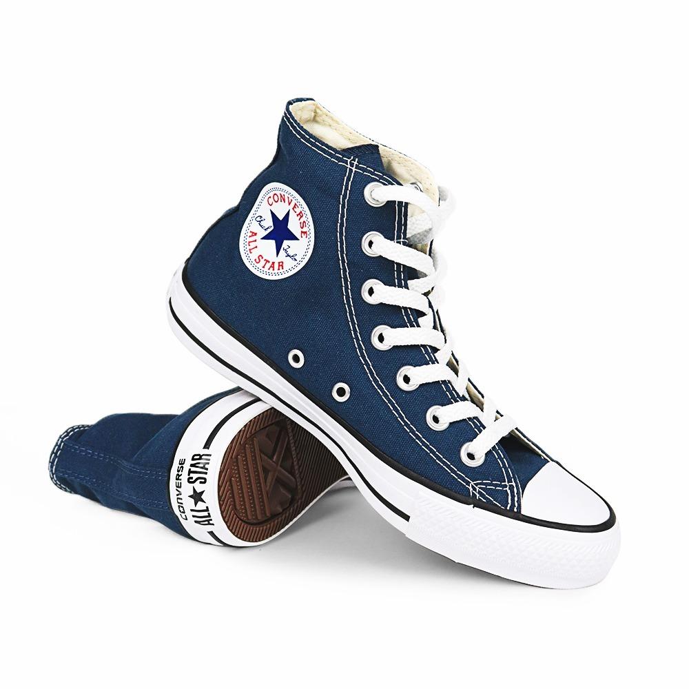 6fa837cb0b2 tênis converse all star cano alto chuck taylor azul marinho. Carregando  zoom.