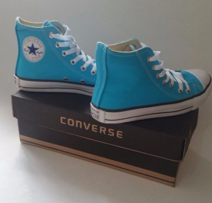 converse all star azul turquesa