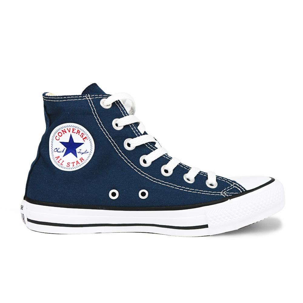 94f13650fcd tênis converse all star chuck taylor cano alto azul marinho. Carregando  zoom.