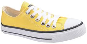 c18a92e5c6 Tênis Converse All Star Chuck Taylor Cano Baixo Amarelo