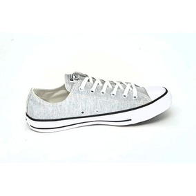591d5076336 Tênis Converse All Star Chuck Taylor Ox Moletom Cinza Ct048