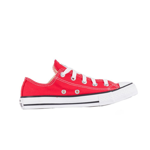 Tênis Converse All Star Chuck Taylor Vermelho cru preto - R  109 b7ca6fe6132a3