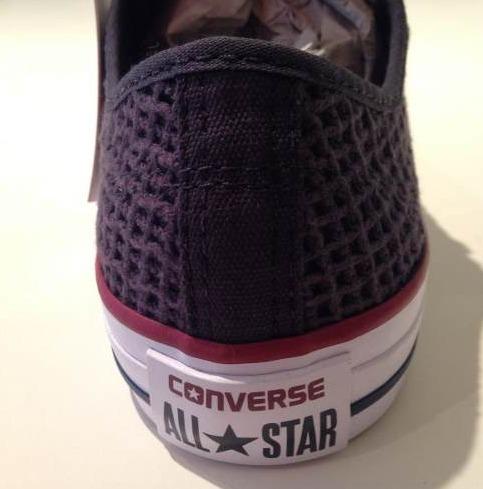 d8f0deb6930 Tênis Converse All Star Crochê Preto- Lançamento - R  159