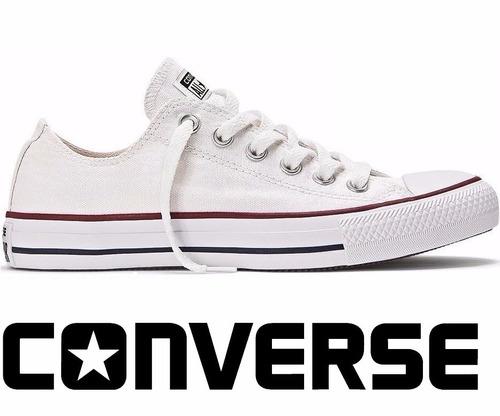 tênis converse all-star ct as core ox branco ct00010001