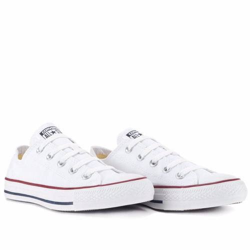 tênis converse all-star ct as core ox branco ct00010001