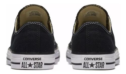 tênis converse all star ct as core ox preto ct00010002 30002
