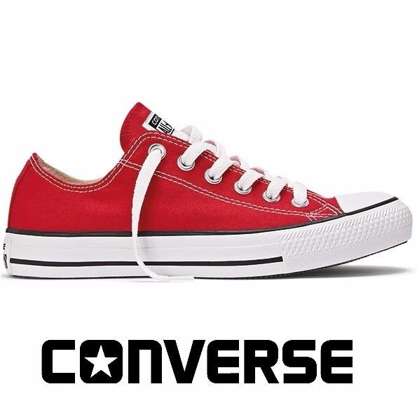 6a473a5d85 Tênis Converse All-star Ct As Core Ox Vermelho Ct00010004 - R  139 ...