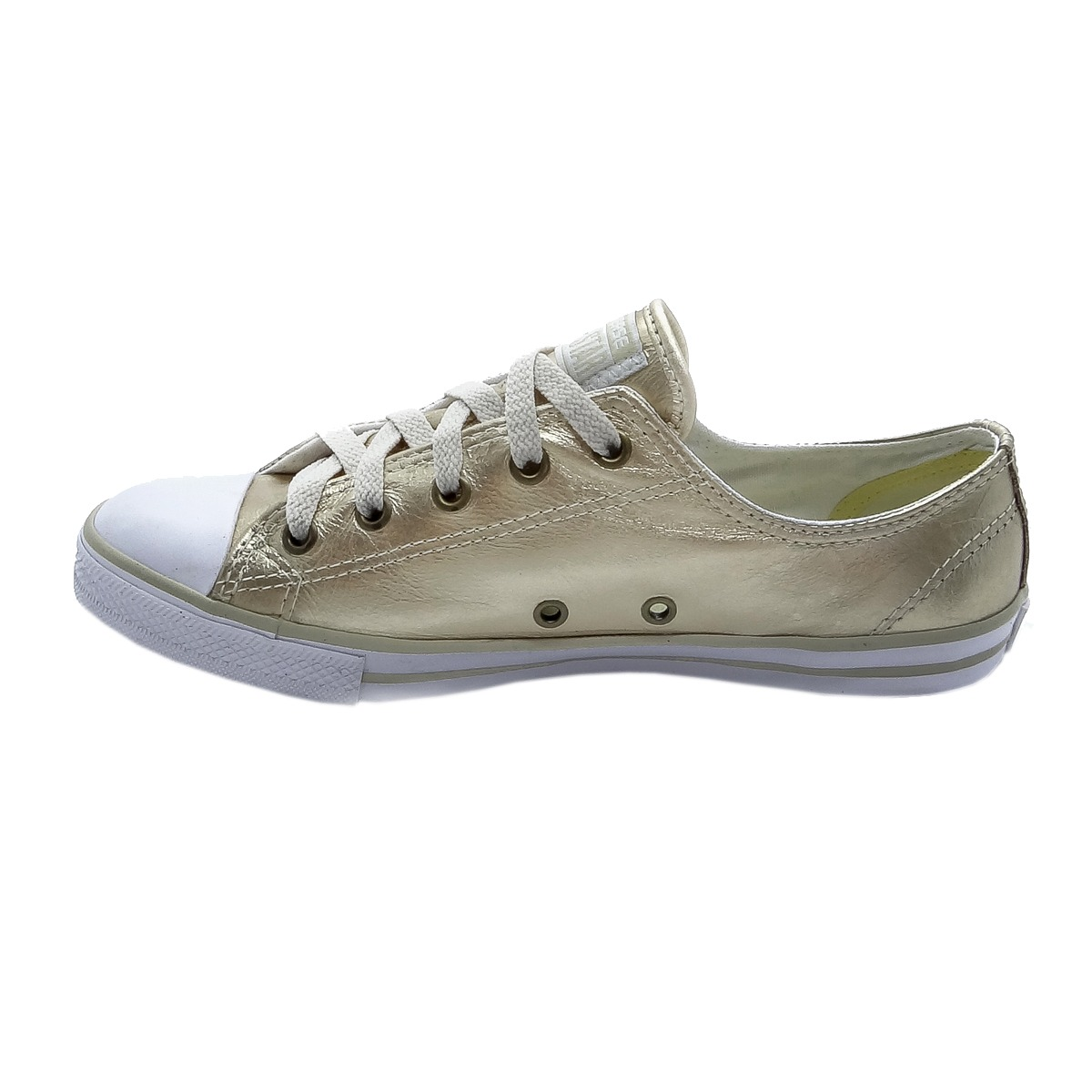 743234c385f tênis converse all star ct as dainty leather ox ouro ce00340. Carregando  zoom.