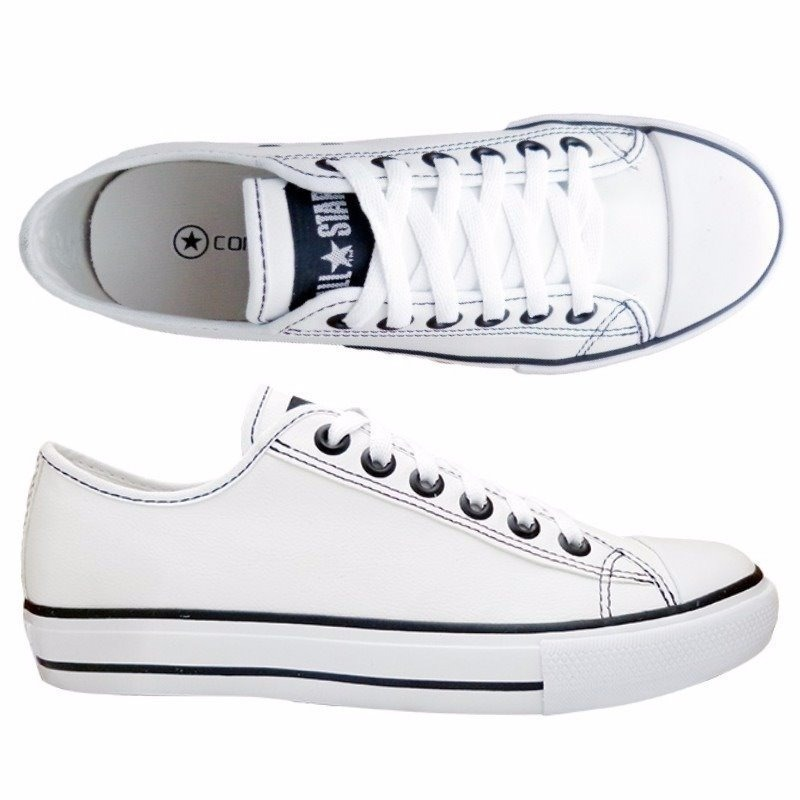 tênis converse all star ct as european ox couro original. Carregando zoom. b3cd1b495130a