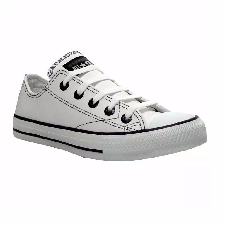Tênis Converse All Star Ct As European Ox Couro Original - R  179 2319801066e23