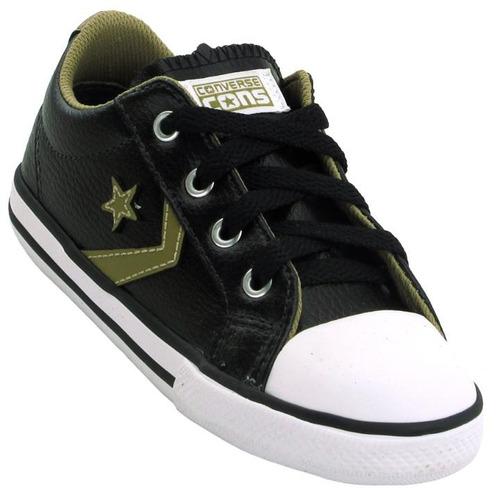 5ab8c640a7 Tênis Converse All Star Infantil Star Player Ev Ox - R  104
