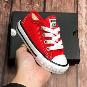 f5f1f3ef84f63 All Star Converse Vermelho Infantil N. 21 - Tênis para Meninos com o  Melhores Preços no Mercado Livre Brasil