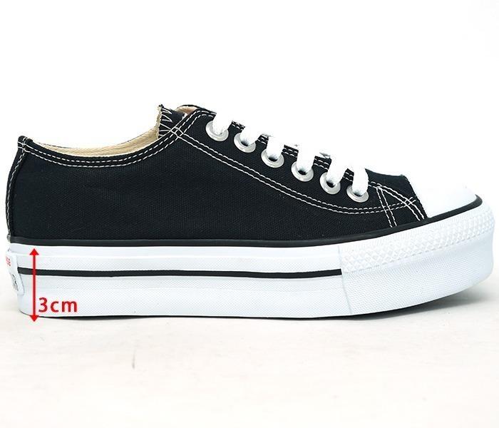 62ad5c375cd Tênis Converse All Star Plataforma Preço De Black Friday - R  59