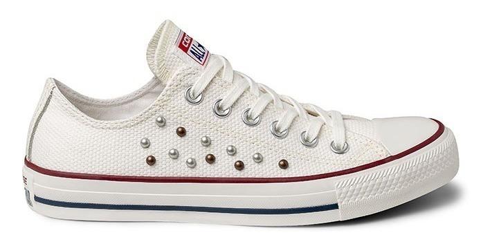c4452216cd773 Tênis Converse All-star Strass Branco Ct05710002 - R$ 139,90 em ...