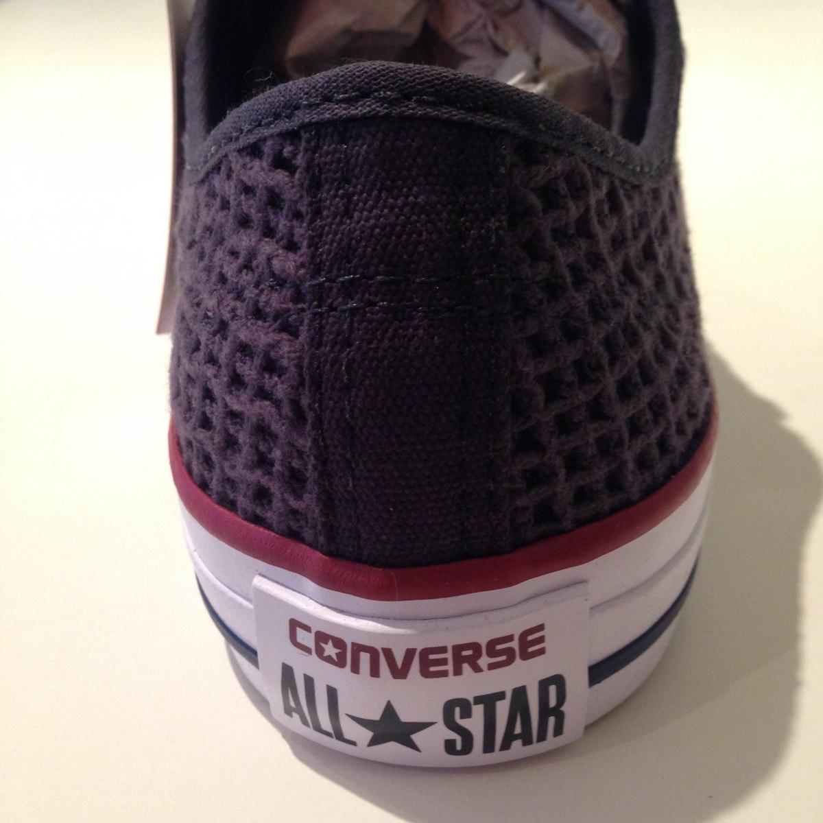 Tênis Converse All Star Trabalhado No Tecido