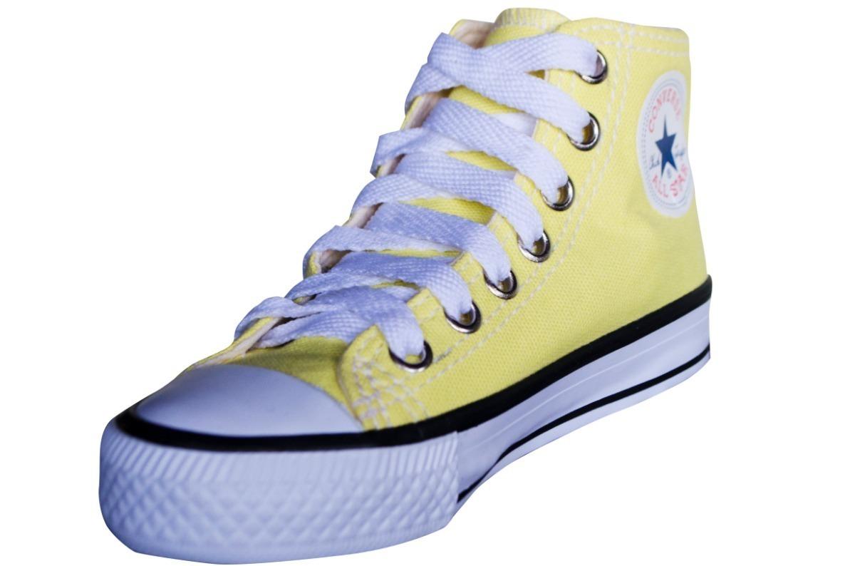 c46a2e8153b tênis converse allstar chuck taylor core hi infantil amarelo. Carregando  zoom.