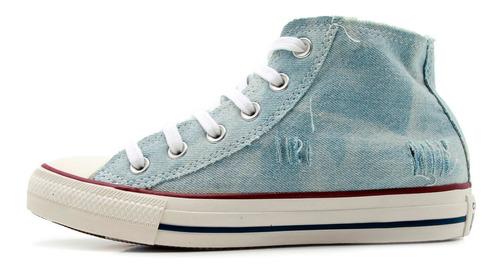 tênis converse chuck taylor all star jeans - azul