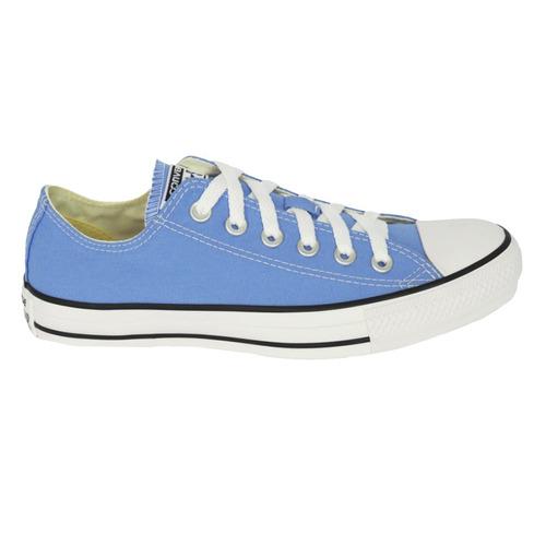 tênis converse chuck taylor all star ox azul hortência ct042