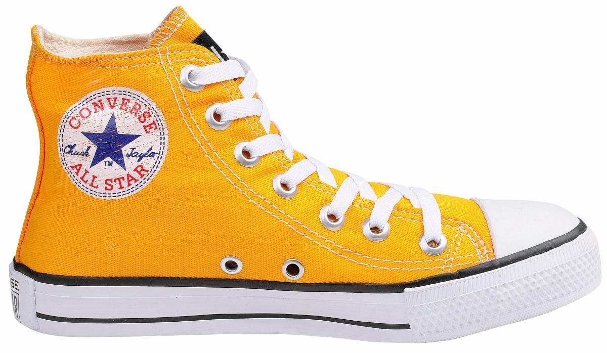87967dd27 tênis converse core hi all star chuck taylor amarelo canario. Carregando  zoom.